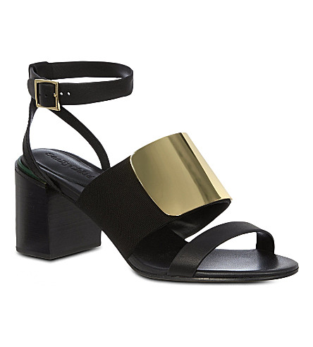 SEE BY CHLOE Canterbury leather sandals (Black