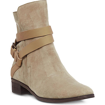 SEE BY CHLOE Coventry suede ankle boots (Beige