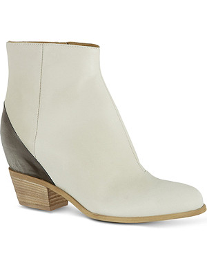 MM6 Hidden wedge ankle boots