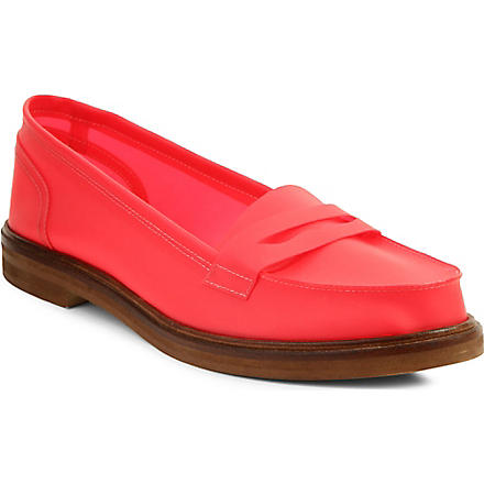 MM6 Perspex loafers (Pink