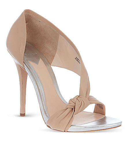 B BY BRIAN ATWOOD Chryssa leather sandals (Nude