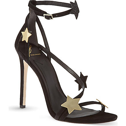B BY BRIAN ATWOOD Licata heeled sandals (Black