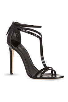 B BY BRIAN ATWOOD Lydia patent strappy sandals