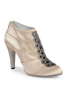 RAYNE Edith satin shoe boots