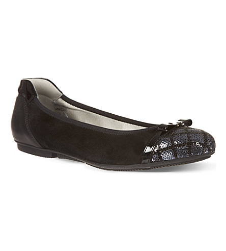 TED BAKER Aries ballet pumps (Black