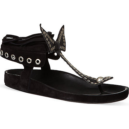 ISABEL MARANT Edris sandals (Black