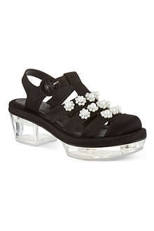 SIMONE ROCHA 50 jelly flower sandals