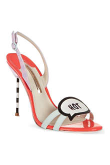 SOPHIA WEBSTER Oprah leather sandals