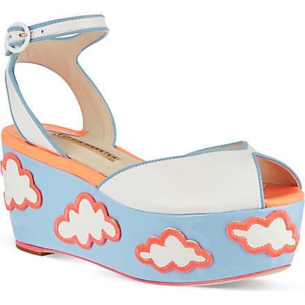 SOPHIA WEBSTER Suki platform sandals (Pink