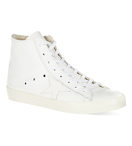 GOLDEN GOOSE Francy high-tops (White