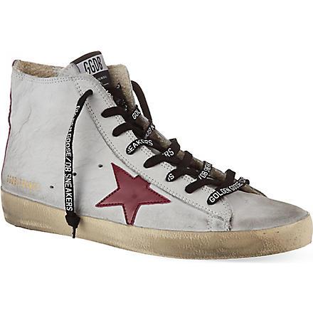 GOLDEN GOOSE Francy hi-top sneakers (Grey/other