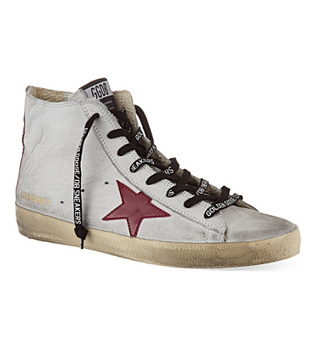 GOLDEN GOOSE Francy high-top trainers (Grey/other