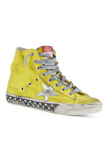 GOLDEN GOOSE Francy laced high tops
