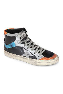 GOLDEN GOOSE 2.12 leather high tops