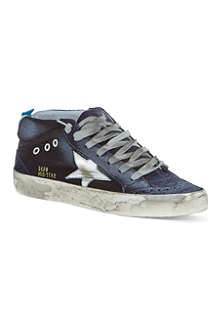 GOLDEN GOOSE Mid Star laced trainers