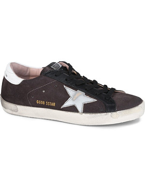 GOLDEN GOOSE Superstar nubuck trainers