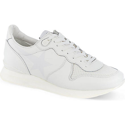 GOLDEN GOOSE May running trainers (Silver