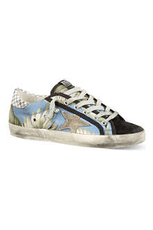 GOLDEN GOOSE May laced trainers