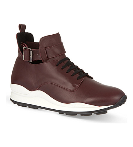 OPENING CEREMONY High-top trainers (Wine