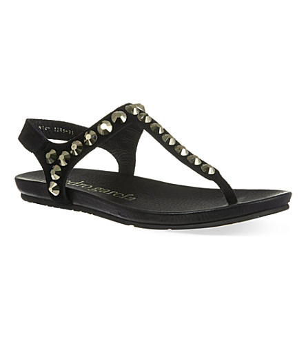 PEDRO GARCIA Judith sandals (Black