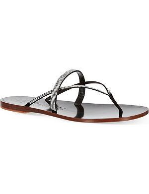 PEDRO GARCIA Zuriel crystal sandals
