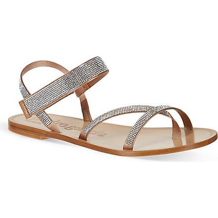 PEDRO GARCIA Ingrid sandals (Camel