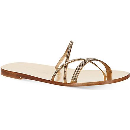 PEDRO GARCIA Iluna sandals (Gold