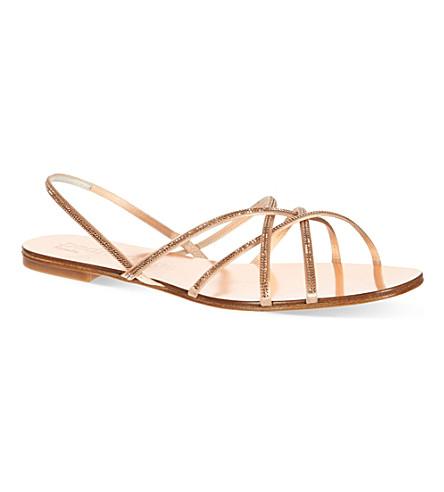 PEDRO GARCIA Elora sandals (Gold