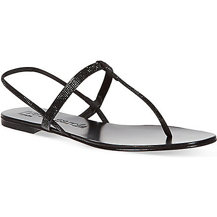 PEDRO GARCIA Ella sandals (Black