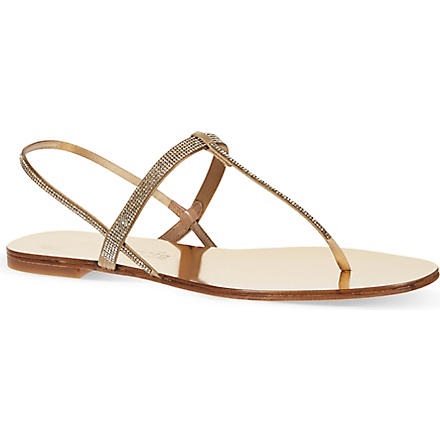 PEDRO GARCIA Ella sandals (Gold