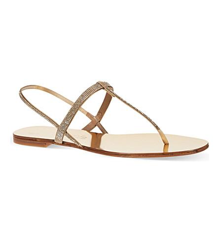 PEDRO GARCIA Ella sandals (Gold
