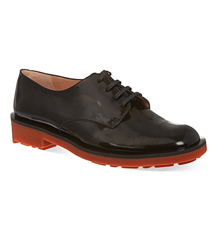 ROBERT CLERGERIE Essie oxford shoes (Black