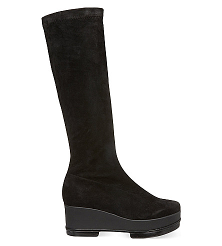 ROBERT CLERGERIE Yosti knee-high boots (Black
