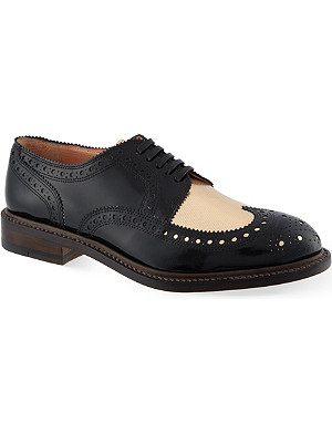 ROBERT CLERGERIE Roelh leather brogues