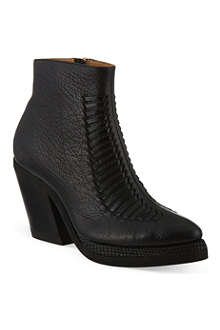 PURIFIED Patsy II leather ankle boots