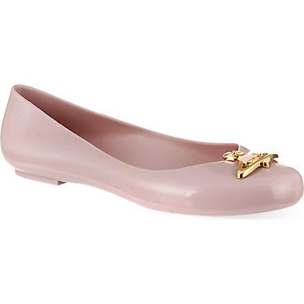 MELISSA + VIVIENNE WESTWOOD Vivienne Westwood ballerina pump (Lilac