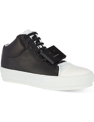 ACNE Cleo high-top trainers
