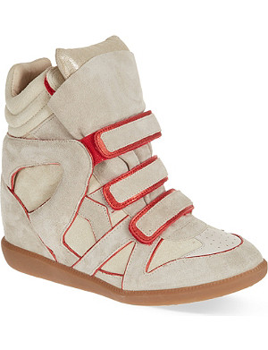 ISABEL MARANT Wila wedge trainers