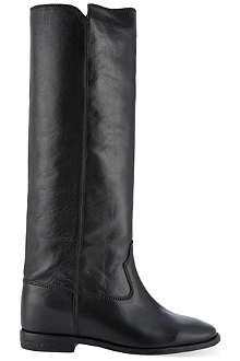 ISABEL MARANT Chess knee-high riding boots