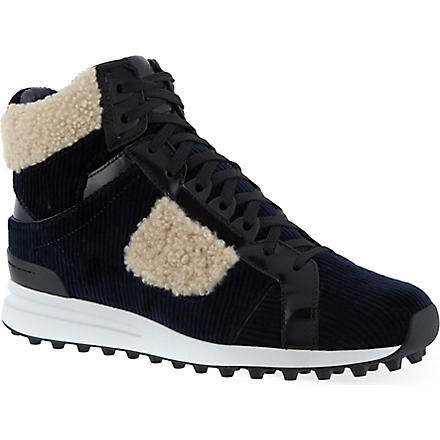 3.1 PHILLIP LIM Trance high-top sneakers (Blue/drk.c