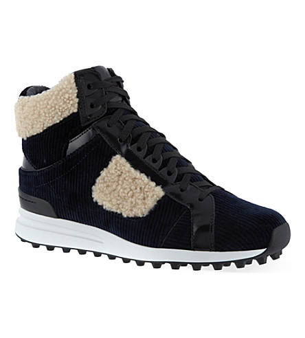3.1 PHILLIP LIM Trance high-top sneakers (Blue/drk.c