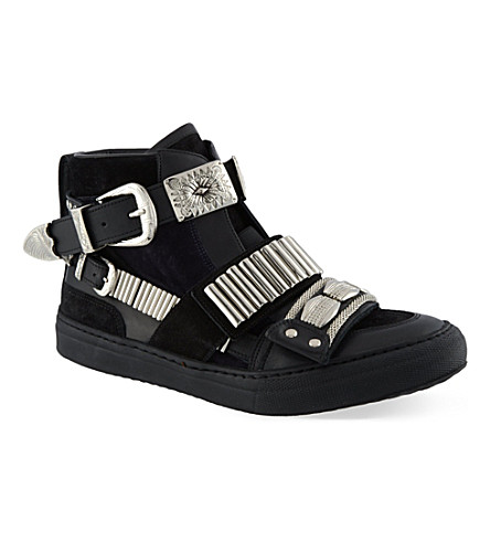 TOGA Losfield hi-top trainers (Black