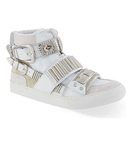 TOGA Losfield hi-top trainers (White
