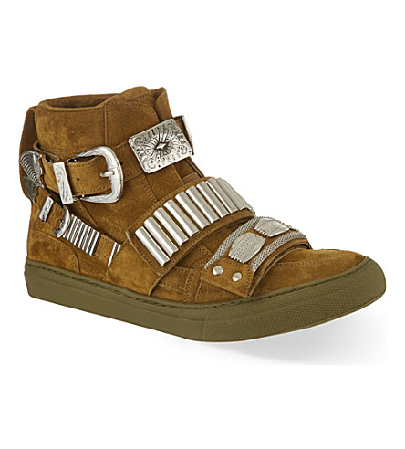 TOGA PULLA Losfield hi-top trainers (Beige