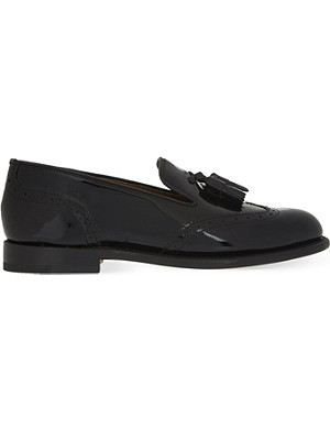 GRENSON Katie tassel slippers
