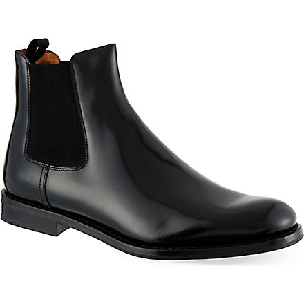 CHURCH Monmouth leather ankle boots (Black