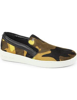 MICHAEL MICHAEL KORS Keaton camouflage skate shoes