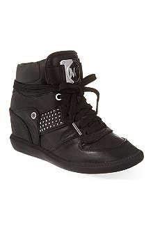 MICHAEL MICHAEL KORS Krista high-top wedge sneakers