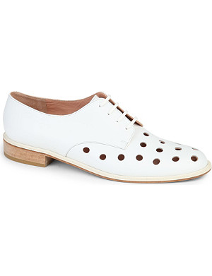 ROBERT CLERGERIE Jasper leather brogues