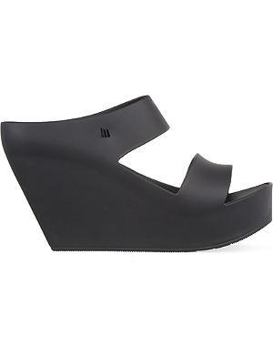 MELISSA Creative platform wedge sandals